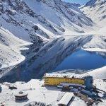 Portillo Ski Resort on the slopes of Chile