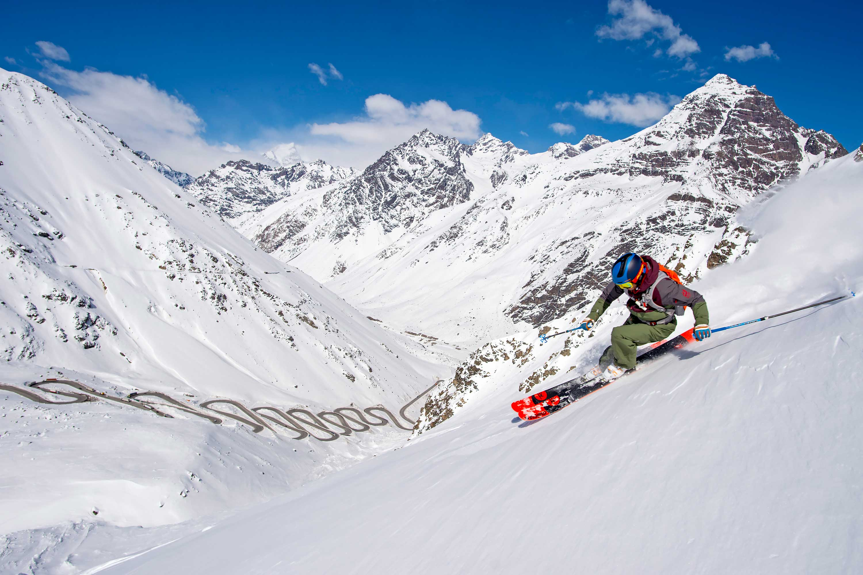 ski holiday in chile