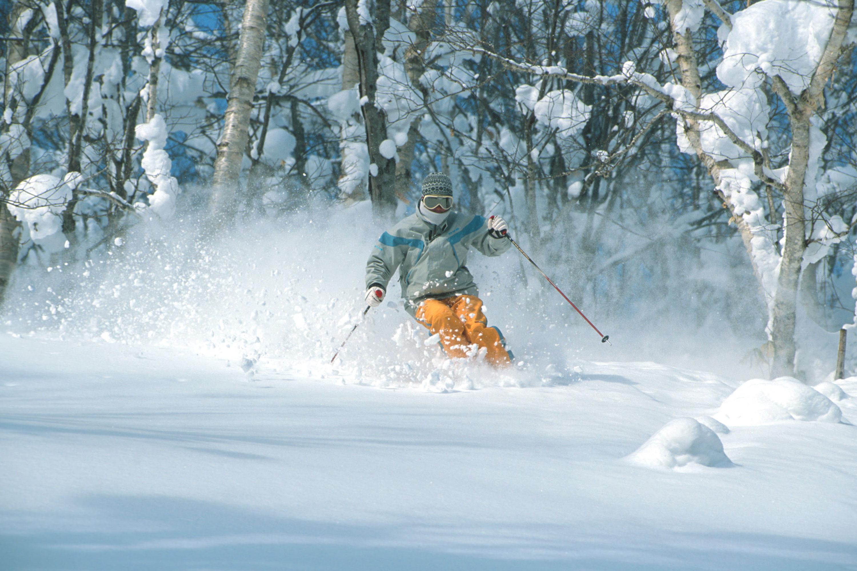 Rusutsu ski resort Japan for a ski holiday