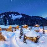 Last Frontier Heli Ski British Columbia Canada Bell 2 Lodge