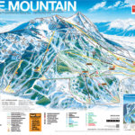 Ski Crested Butte Colorado USA Trail Map