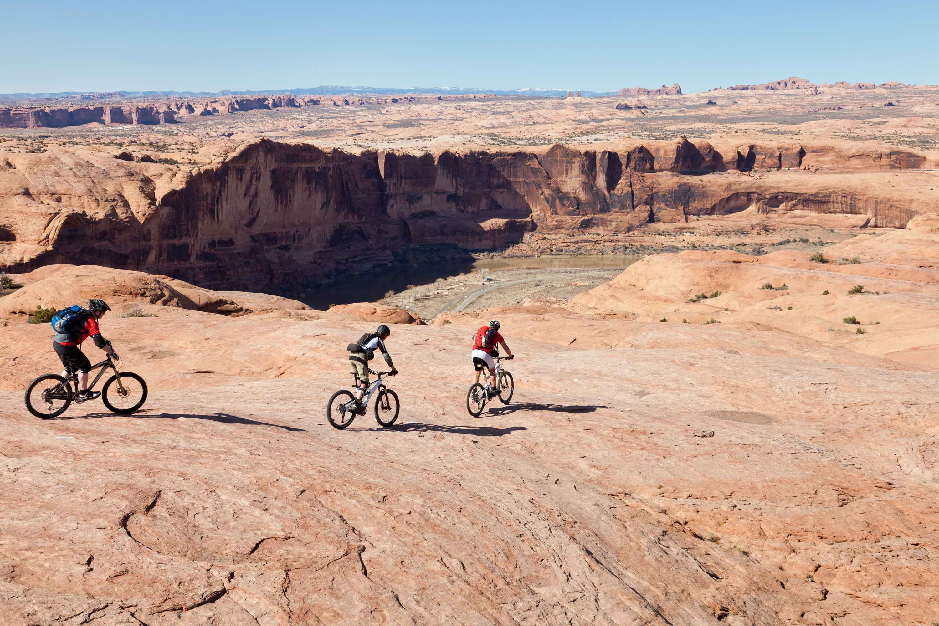 Bike Moab Utah in the USA