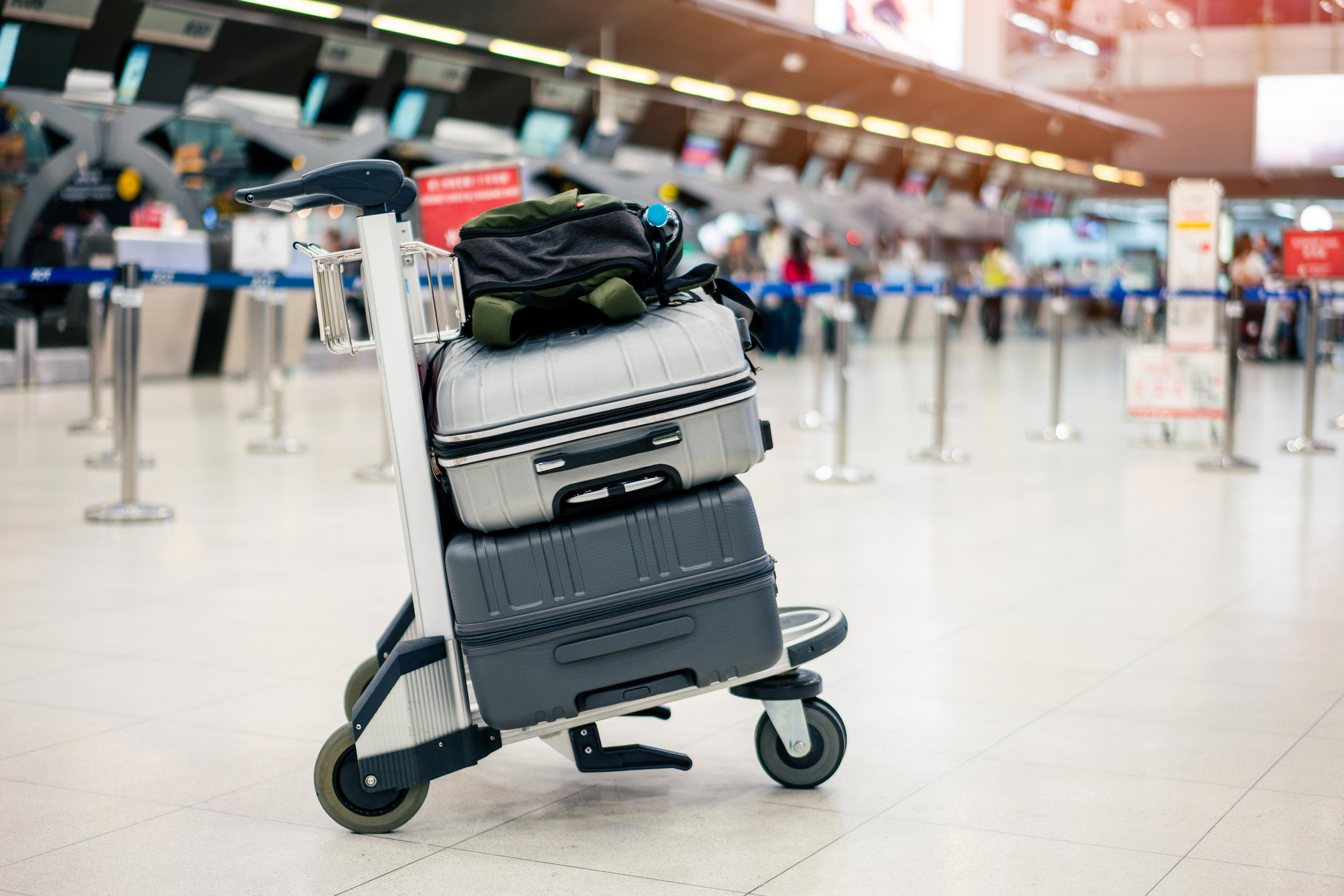 Get and extra piece of luggage for $1