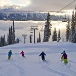 Group of skier at Fernie