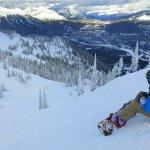 Snowboarder at Fernie