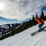 Skier on the slopes Kimberley