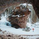 Johnston Canyon Ice walk Banff