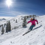 skiing copper mountain