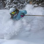 powder skiing copper mountain