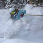 powder skiing copper mountain