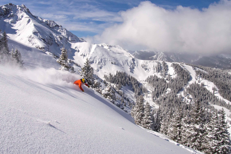 Ski and snowboard Telluride Colorado USA