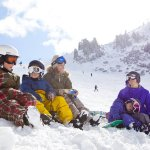 Ski Mammoth, California