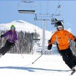 Skiers at Revelstoke