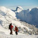 Snowboarders at Revelstoke