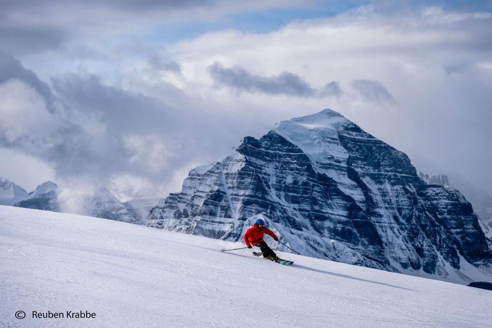 Skiing Banff