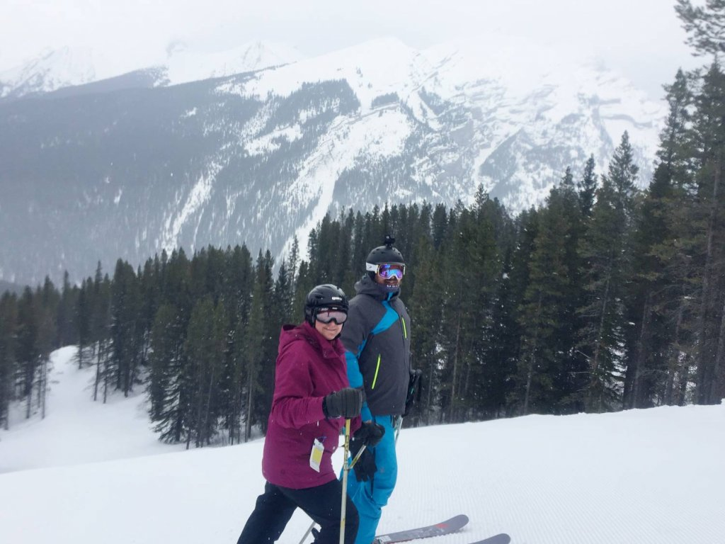 Ski Mt Norquay Banff Canada