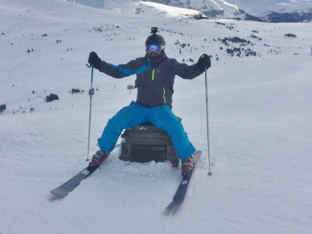 Ski Sunshine Ski Resort Alberta Canada