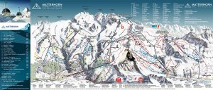 Ski Zermatt Switzerland trail map