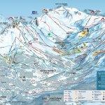 Meribel Ski Resort, France trail map