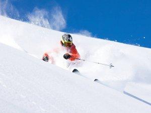 Powder Skiing at Meribel Ski Resort, France