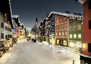 Ski Kitzbuehel Austria Europe