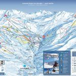 Les Menuires Ski Resort Ski Trail Map