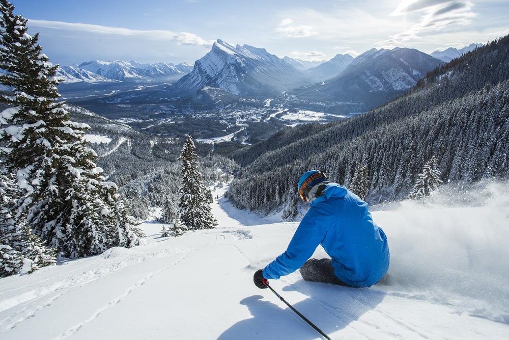 Mt Norquay Ski Resort in Canada