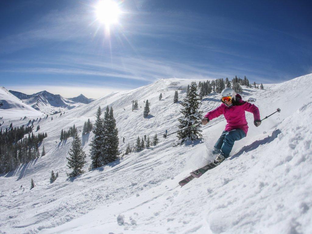Skiing Copper Mountain