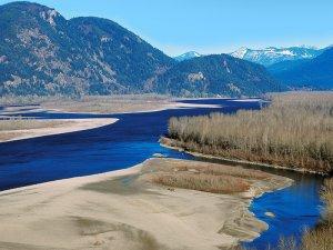 Fraser River Chilliwack Canada