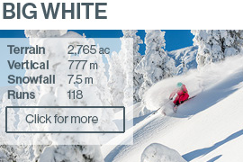 Big White Ski Resort BC Canada