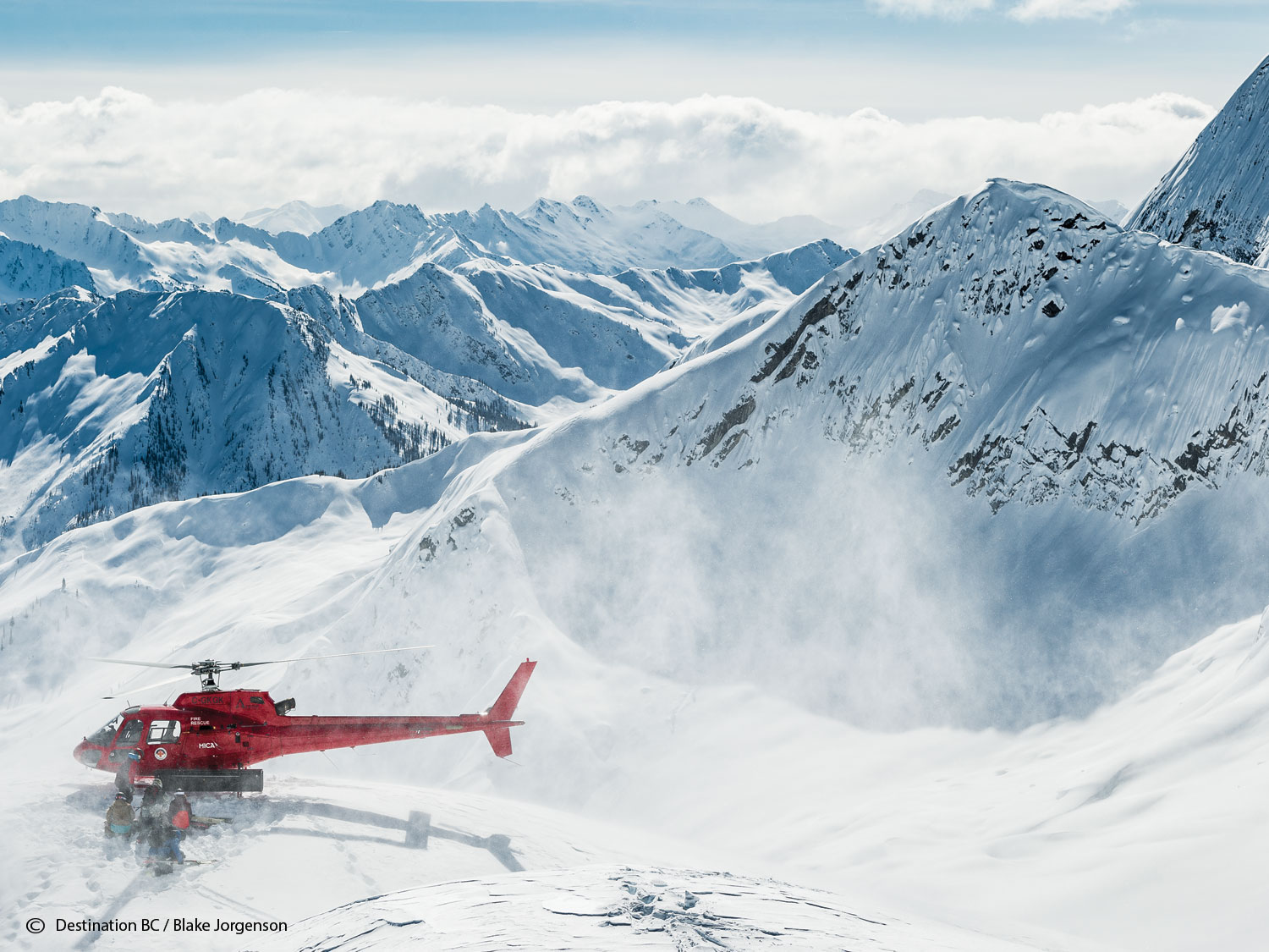 Heli Skiing at the Birthplace of it all
