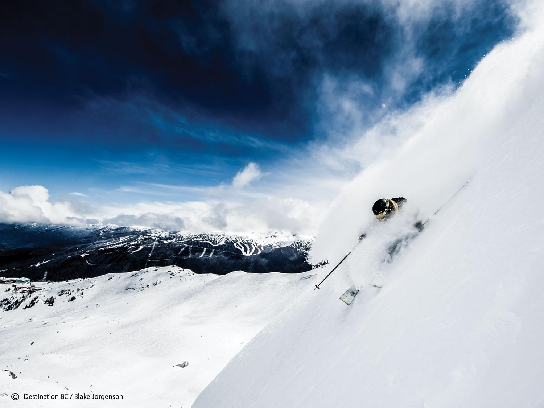 The Largest Ski Resort in BC