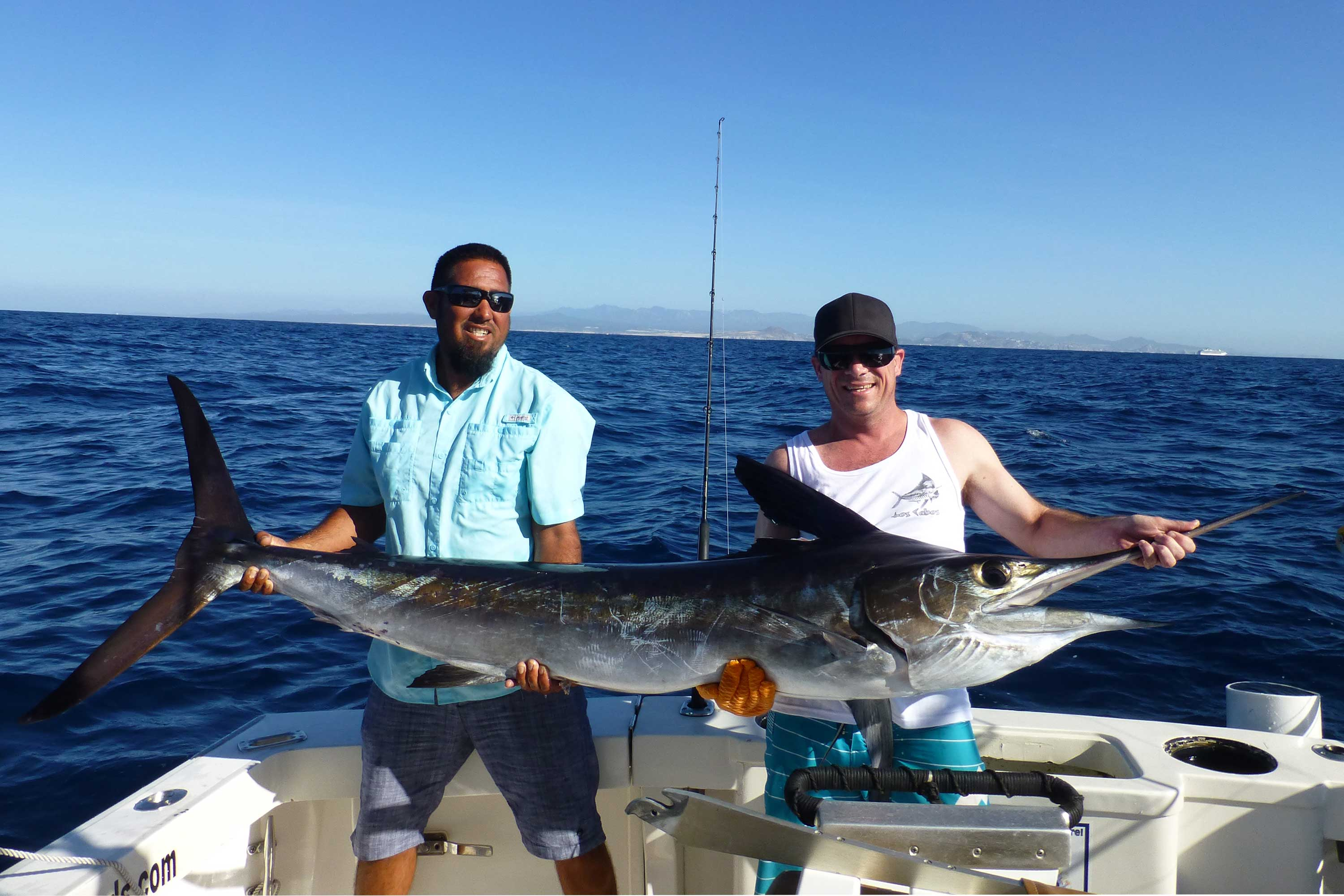 Catch a marlin in Cabo San Lucas Mexico on your fishing holiday