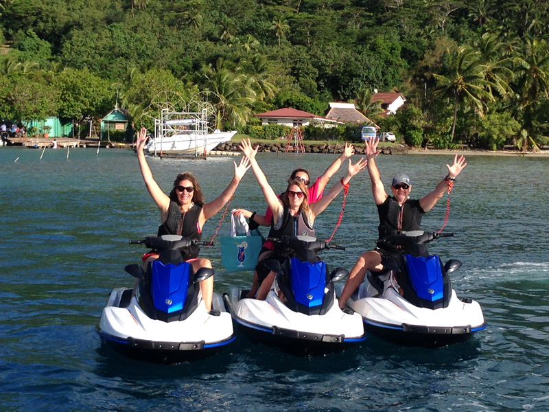Jet Ski Tour in Tahiti
