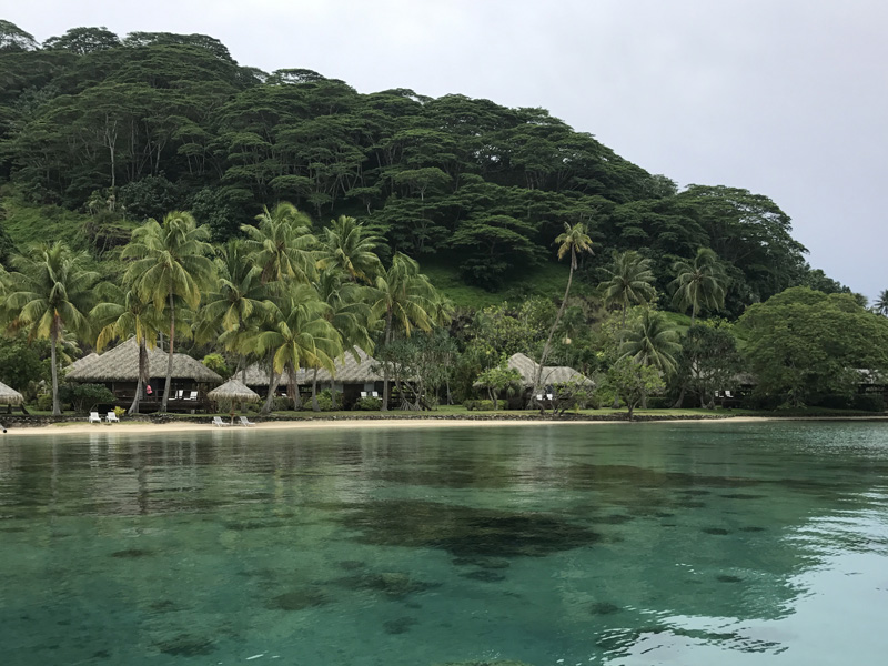 Accommodation in Huahine
