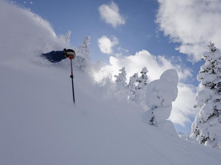 Ski Powder Furano Hokkaido Japan