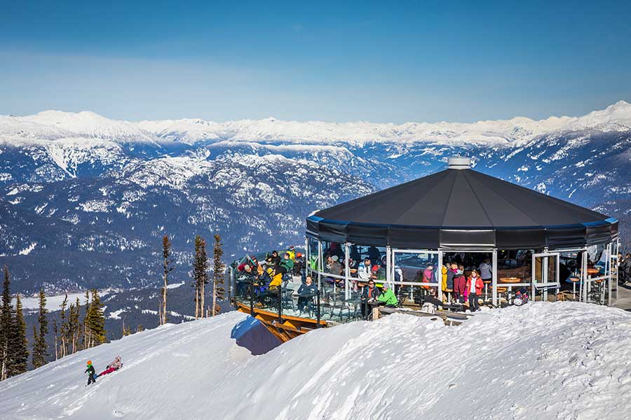Whistler Blackcomb Apres Ski Umbrella Bar