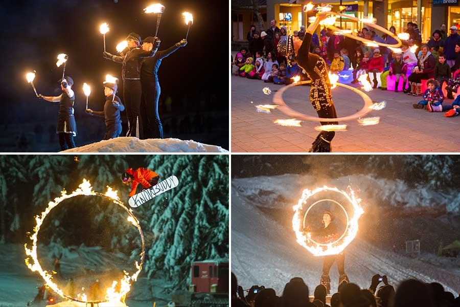 Whister Fire and Ice Show