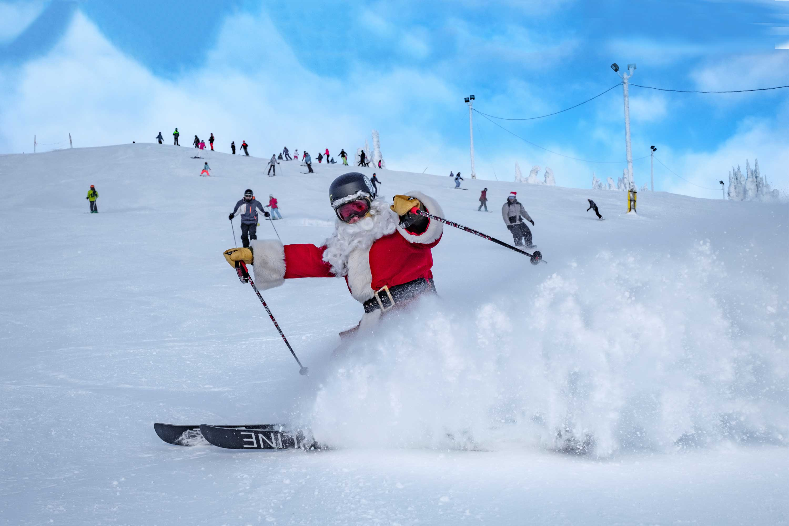 Ski Big White White Christmas ski holiday package