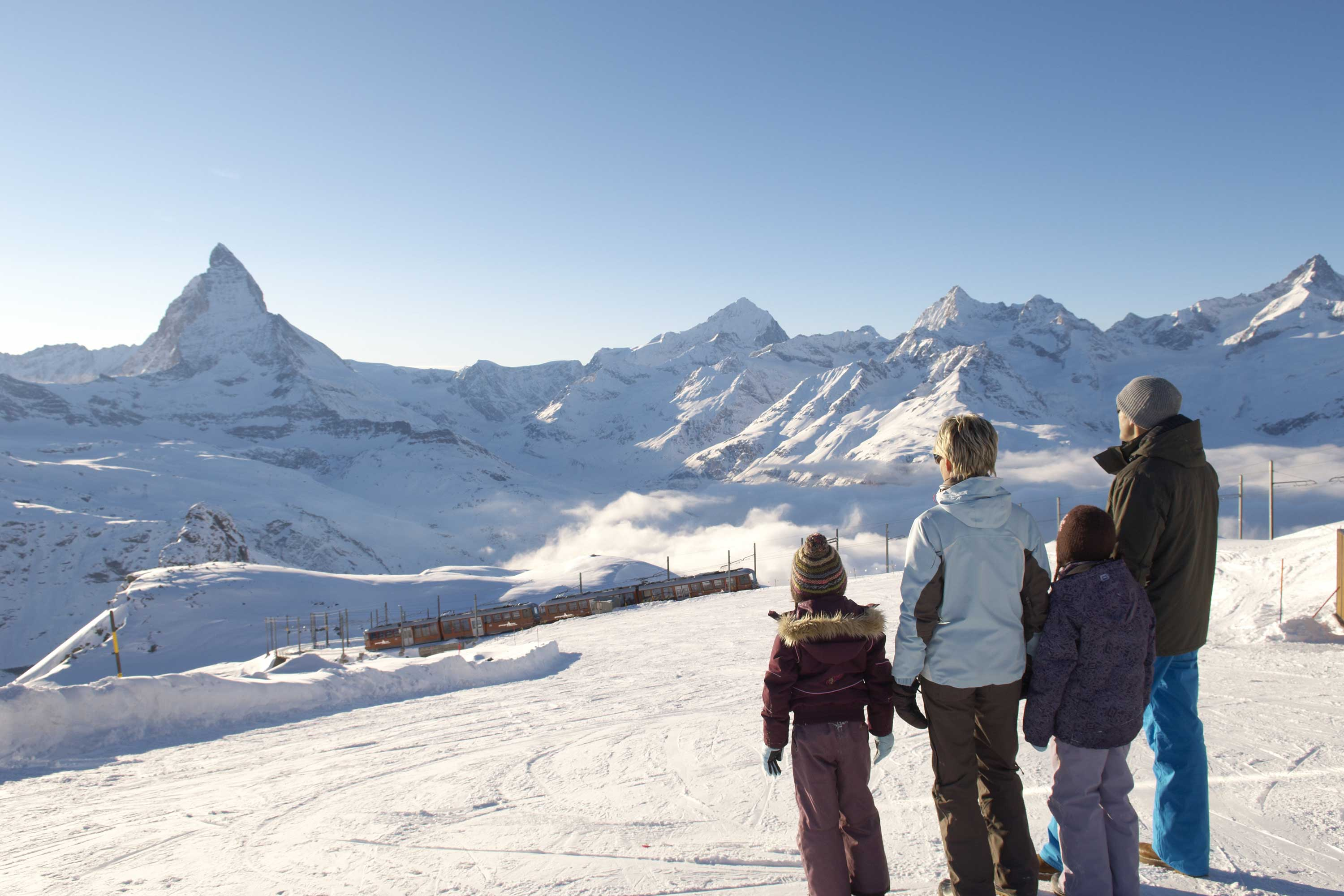 Zermatt Switzerland Ski Christmas holiday
