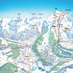 Titlis Ski Resort Trail Map