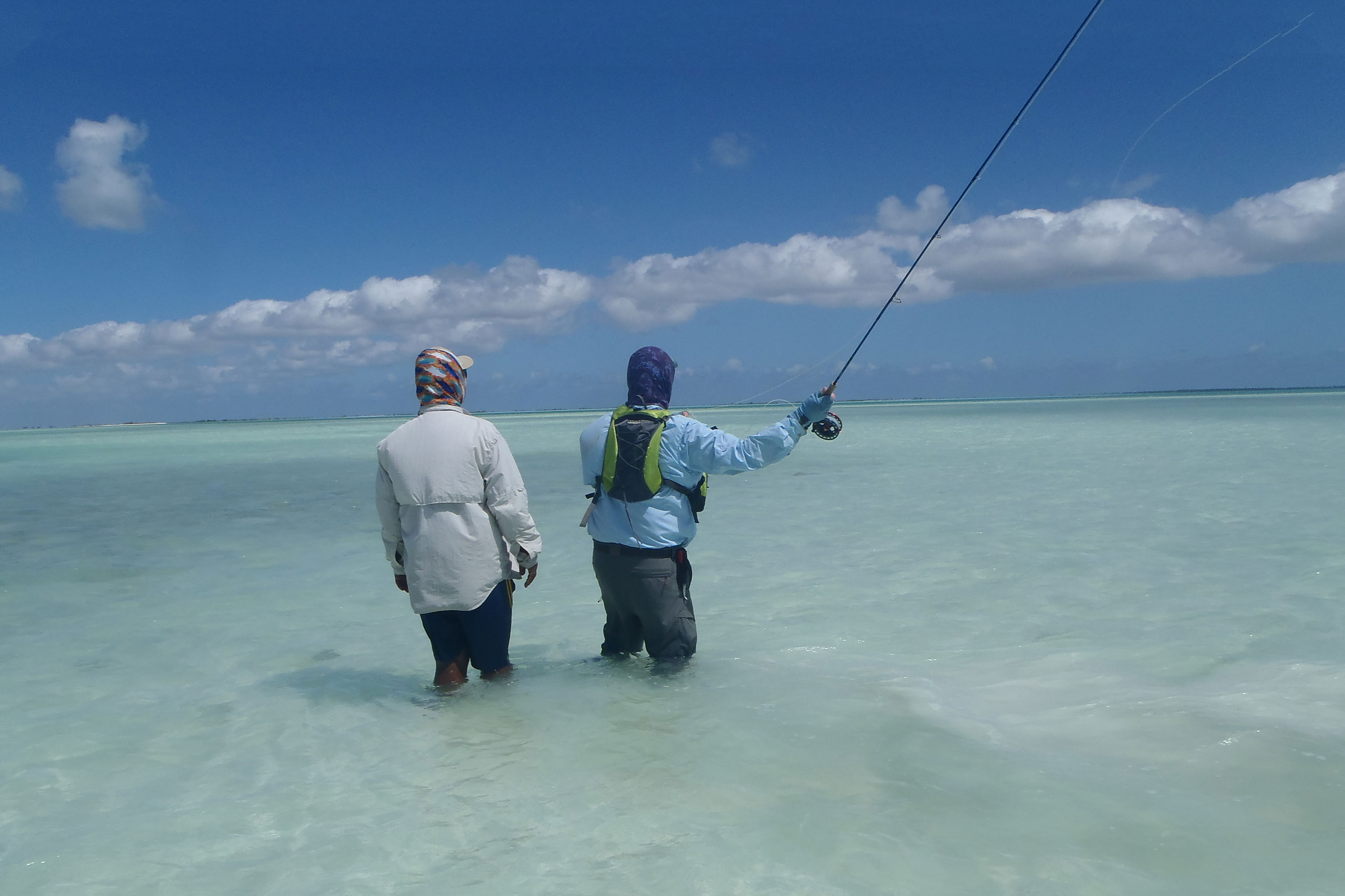 Fishing Group Tour holiday to Christmas Island Kiribati