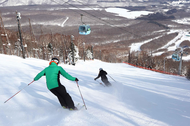 Ski Resort Appi Kogen Honshu Japan