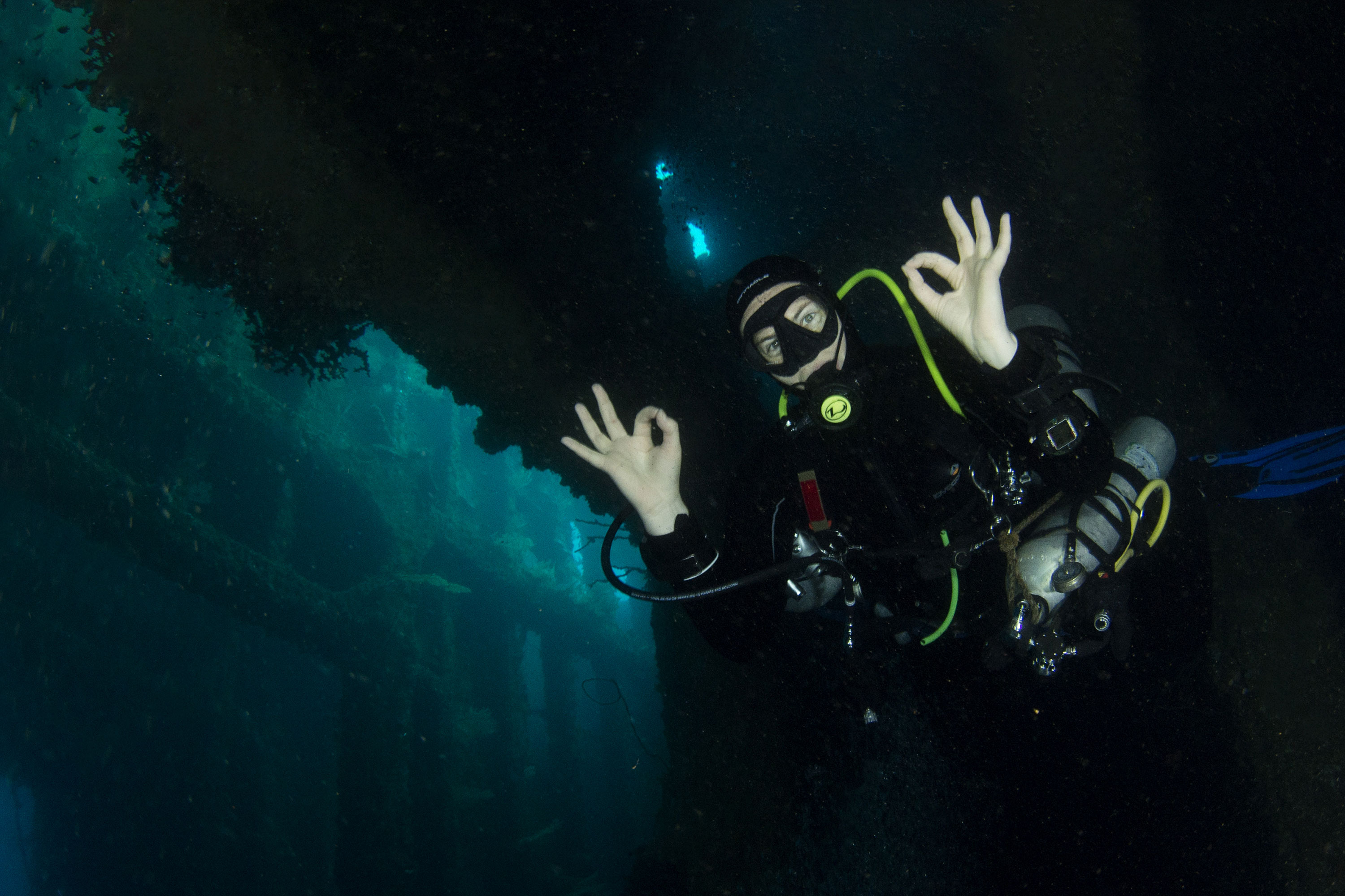 Dive the SS Coolidge in Santo Vanuatu with travel&co holiday package