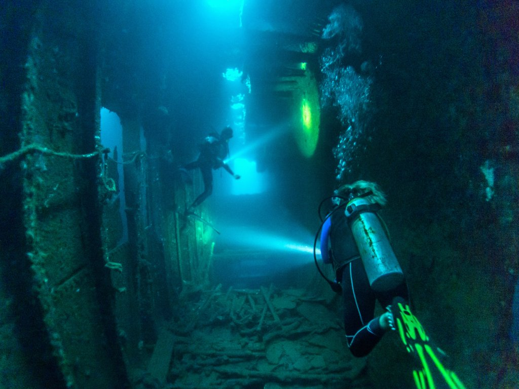 SS President Coolidge wreck