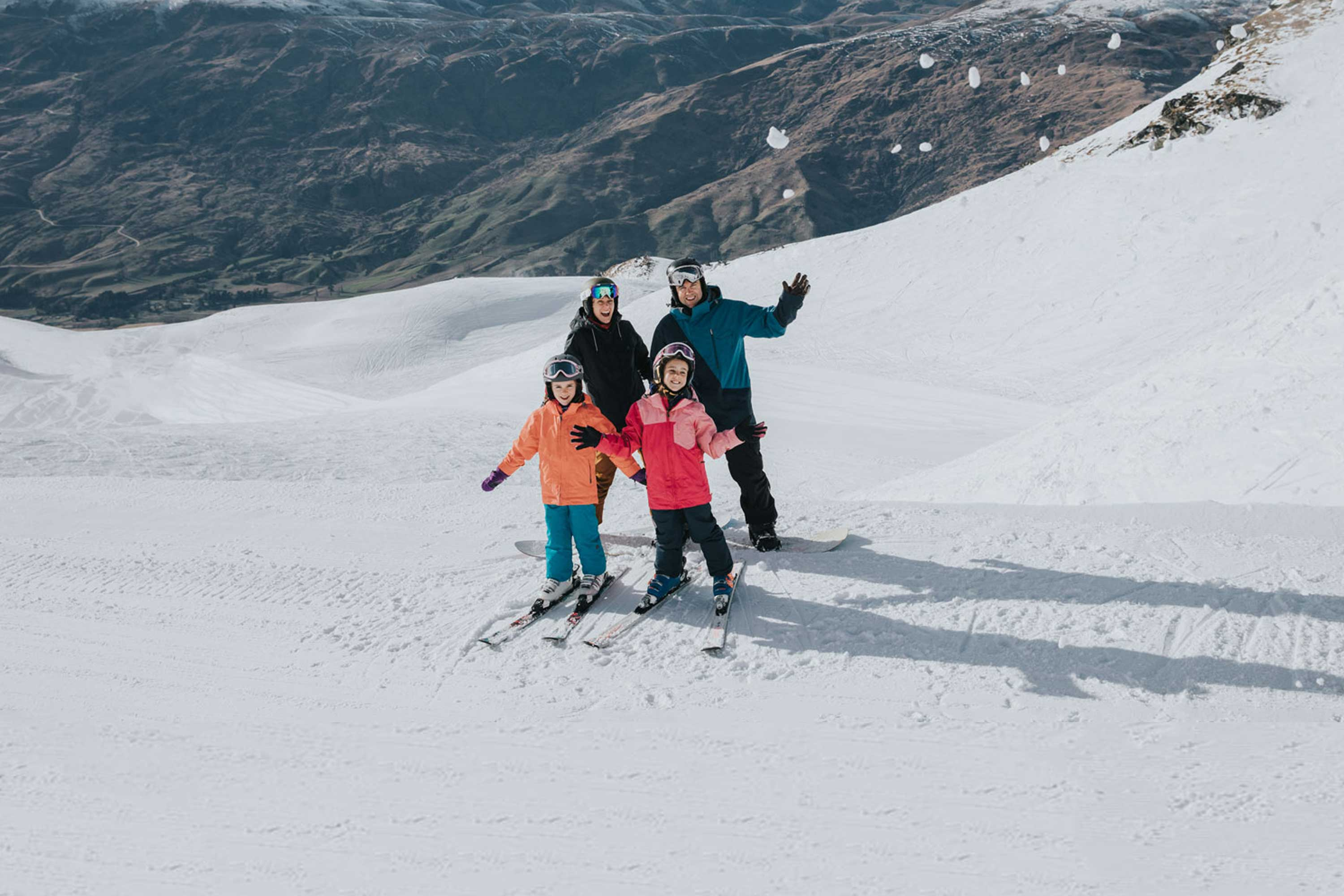 Ski Queenstown family cardrona